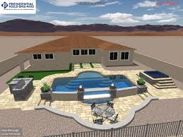 Presidential Pools Surprise Az by Pools Kevens Landscape Co