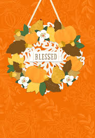 blessed religious thanksgiving card greeting cards hallmark