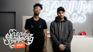 21 21 savage goes sneaker shopping with complex youtube