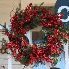 berry wreath cedar berry wreath 22 flora decor