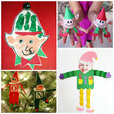 elf crafts for kids to make at christmas crafty morning