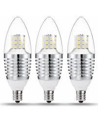 Led Bulbs For Chandelier Amazing Deal Candelabra Base Led Bulbs 7w 65 70 Watt Equivalent