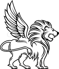 royal rampant lion sillhouette stock vector of u0027isolated lion