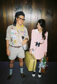 sam the halloween spirit cute couple u0027s costume sam and suzy from moonrise kingdom i wish i
