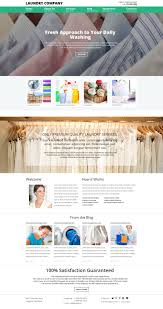 website template 52914 dry cleaning company custom website