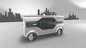 ford ford concept uses drones and self driving vans for deliveries