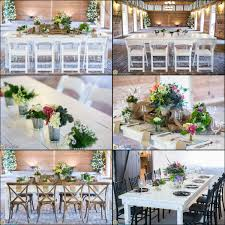 wedding table rentals party rental and tables rectangle goodwin events