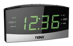 amazon com naxa electronics nrc 181 bluetooth easy read dual