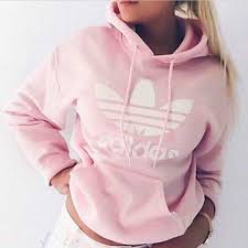 Women Fashion Adidas Hooded Top Sweater From Ids Book