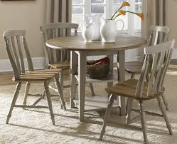 drop leaf dining room tables round drop leaf dining leg table by liberty furniture wolf and