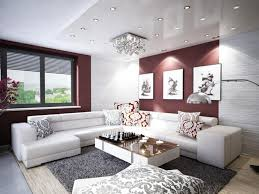 White Leather Living Room Ideas by Apartment Minimalist Ideas Designing Living Room In Small