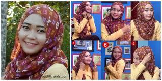 tutorial memakai jilbab paris yang simple 10 simple hijab paris tutorials you can do less than minute
