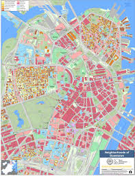 boston city map neighborhood maps boston planning development agency
