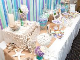 Beach Centerpieces For Wedding Reception by Best 25 Beach Bridal Showers Ideas On Pinterest Beach Shower