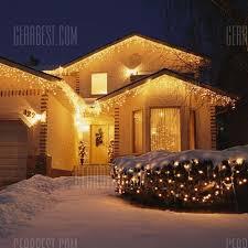 philips led dome christmas lights kwb led christmas lights outdoor decoration lights 3 5m droop led