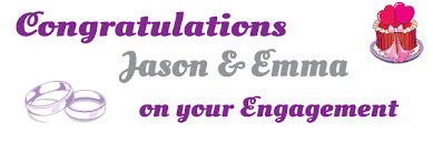 congratulations engagement banner engagement banners print a banner pvc banners for any occasion