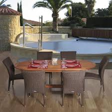 The Great Outdoors Patio Furniture Amazonia Lemans 7 Piece Patio Dining Set Lemans Set The Home Depot