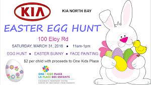 east egg easter egg hunt kia north bay kiss 100 5 north bay