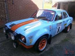 gulf racing truck ford escort mk1 gulf racing colours