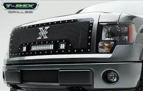 Led Light Bar Parts by T Rex Ford F 150 Torch Series Led Light Grille 2 3