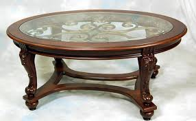 hammary oasis 2 piece oval coffee table set sets at glass top