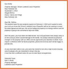 letter to terminate apartment lease apartment rent termination