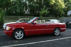 find used 1995 mercedes benz e320 convertible custom 5 speed