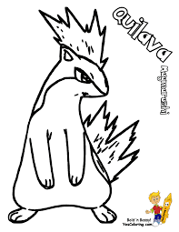 pokemon coloring pages cyndaquil 1 arterey info