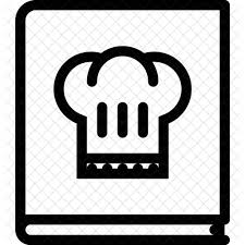 kitchen icon cook book food drink kitchen icon food drinks icons in svg