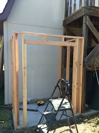 building a lean to shed framing and siding wilker do u0027s