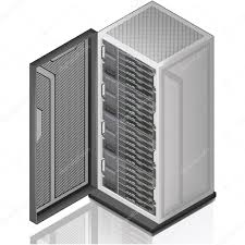 server rack stock vectors royalty free server rack illustrations