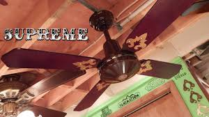 Murray Feiss Fans Supreme Mark I Ceiling Fan Youtube