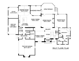 House Plans With Keeping Rooms by French Provincial Home Plans