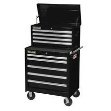 stanley 10 drawer rolling tool cabinet stanley 27 in black 10 drawer tool chest and cabinet combo storage