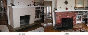painting your brick fireplace dino fauci paint color design