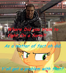 Man Of Steel Meme - 548791 app el applejack braeburn general zod man of steel