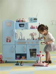 cuisine enfant vintage cuisine en bois grand chef vintage bleu clair uni vertbaudet