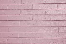 Pink Brick Wall Mauve Painted Brick Wall Texture Picture Free Photograph