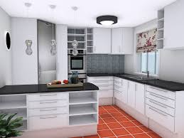 open shelves kitchen design ideas plan your kitchen design ideas with roomsketcher roomsketcher