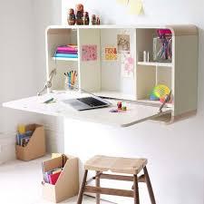 bureau escamotable fabriquer un bureau soi même 22 idées inspirantes bureau mural