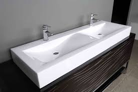 Bathroom Vanity Cabinets Without Tops The Vanities With Rectangular Sinks For Bathroom To Captivating