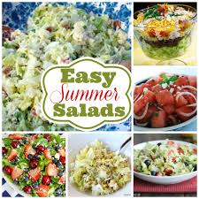 Cool Easy Dinner Ideas 6 Of The Best Easy Summer Salads You Will Make Over And Over