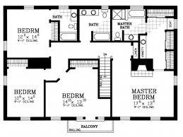 House Plan 4 Bedroom House Floor Plans Home Design Ideas Simple Simple 4 Bedroom House Designs
