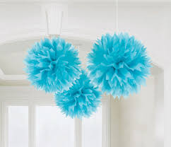 caribbean decorations fluffy paper decorations caribbean the party starts here