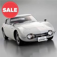toyota car rate toyota 2000gt 1 10 scale model car full kit modelspace