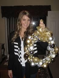 diy ornament wreath comfy cozy couture