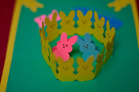 easter bunny and basket pop up card template creative pop up cards