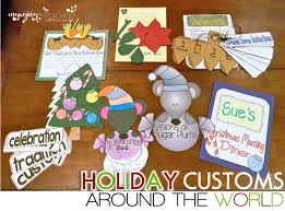 customs around the world activities for the primary grades