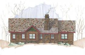 log cabin plan meadowbrook log cabin plan by jim barna log timber homes