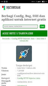 bug axis hitz 2018 gretonger indonesia
